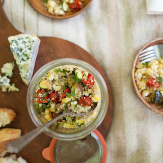 Lime-Scented Quinoa with Roasted Summer Vegetables Recipe