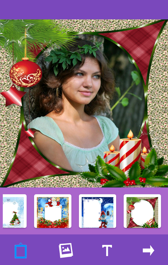 Christmas Frames Photo Collage- screenshot