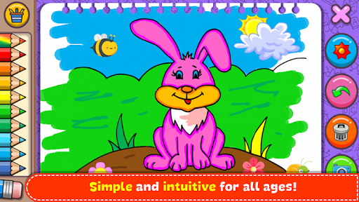 Coloring & Learn Animals - Kids Games screenshots 6