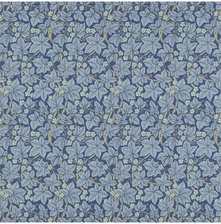 Bramble Tapet - indigo/mineral