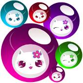 Lily Kitty Ball Live Wallpaper