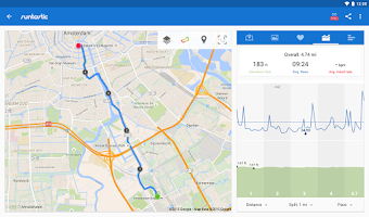 Screenshot of Runtastic Running & Fitness