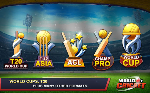 World of Cricket  captures d'écran 3