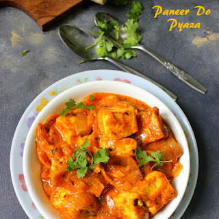 Paneer Do Pyaza Curry
