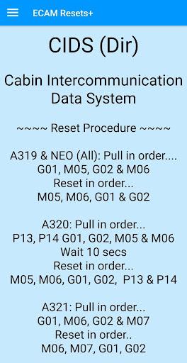 Screenshot for ECAM Resets + in Hong Kong Play Store