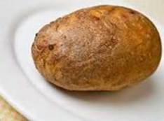 Or bake potato (in microwave, Mom and Grandma never had this luxary)