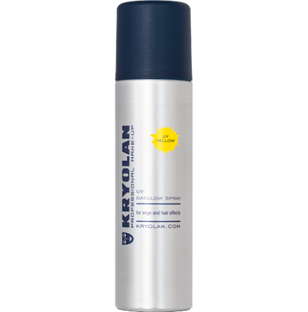 Kryolan UV hårspray, Gul