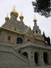 Photo: St. Mary Magdalene convent built by Czar Nicholas