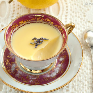Lemon and Lavender Possets Recipe