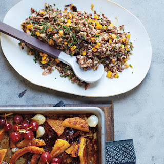 Butternut Squash and Wild Rice Salad