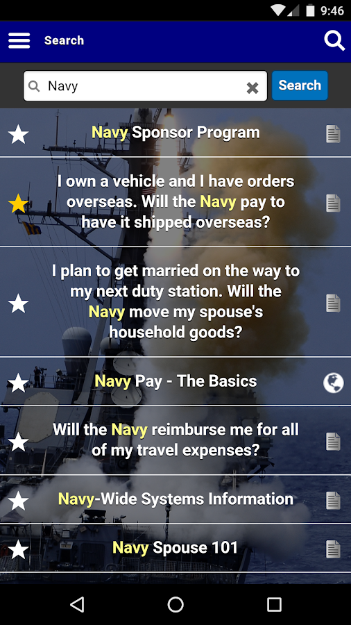 New to the Navy- screenshot