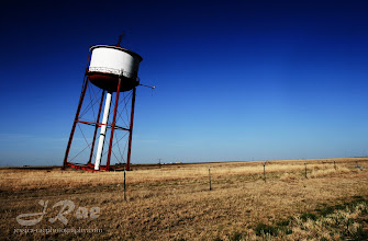 Photo: Falling Water Tower, Globe Texas