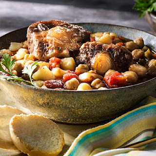 Oxtail Stew with Chickpeas.