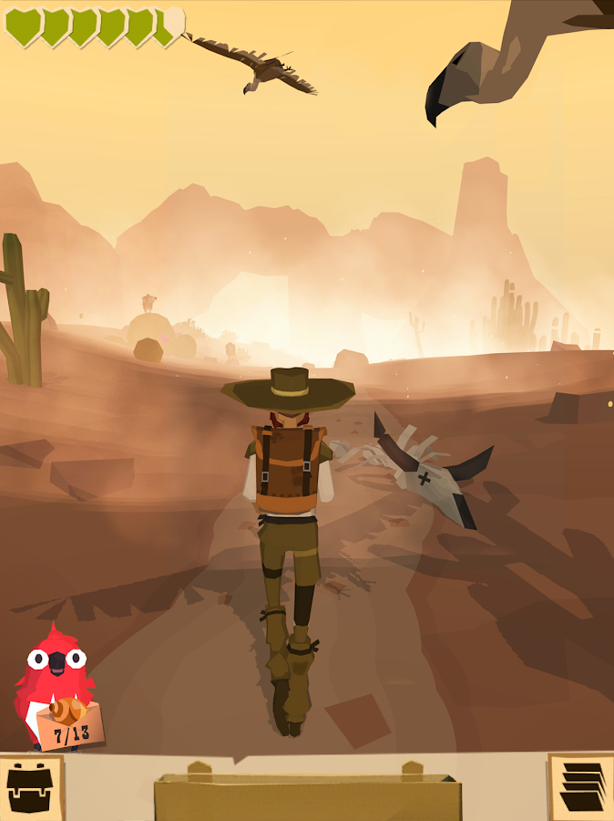 The Trail – Screenshot