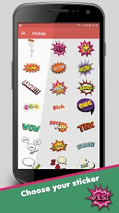 Free Stickers for WhatsApp, Viber, Facebook Screenshot