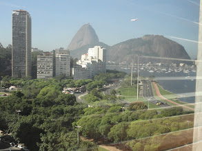 Photo: Vista da Janela do salão do evento
