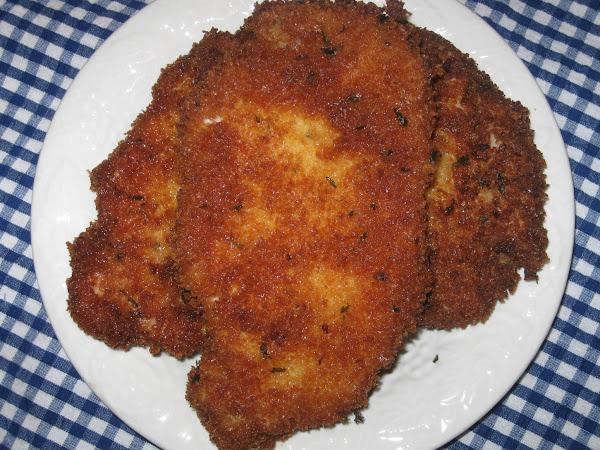 Panko Crusted Pork Chops, Millie's Recipe