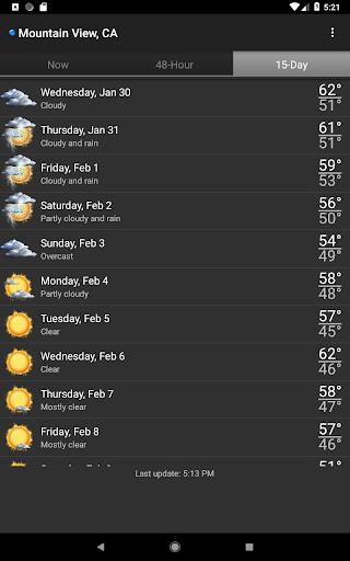 Palmary Weather screenshot 16