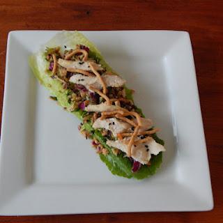Mandarin Chicken & Veggie Lettuce Wraps
