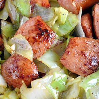 Slow Cooker Kielbasa And Cabbage.