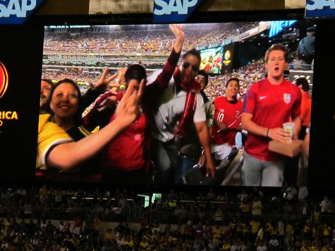 Copa America Centenario Quarterfinal Colombia - Peru