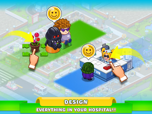 Fun Hospital u2013 Tycoon is back 2.13.0 screenshots 12