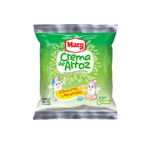 bebida en polvo crema de arroz mary 6 meses 450 gr