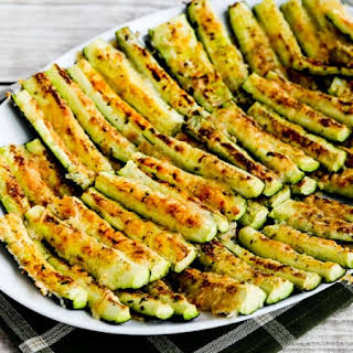 Parmesan Encrusted Zucchini.