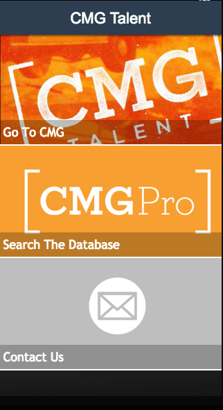 CMG Talent- screenshot