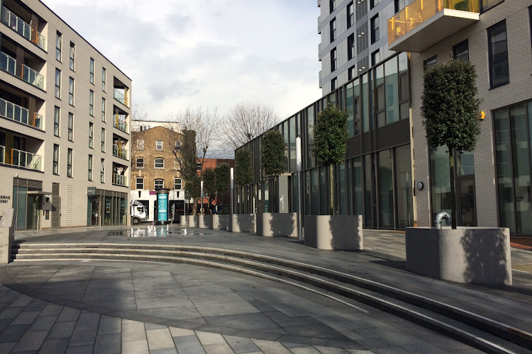 exploring aldgate area
