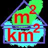 download Square Meter & Square kilometer m² km² Convertor apk