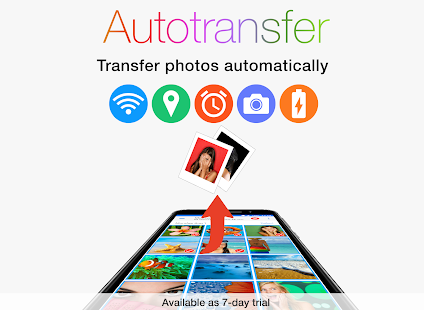 PhotoSync – transfer and backup photos & videos- スクリーンショットのサムネイル
