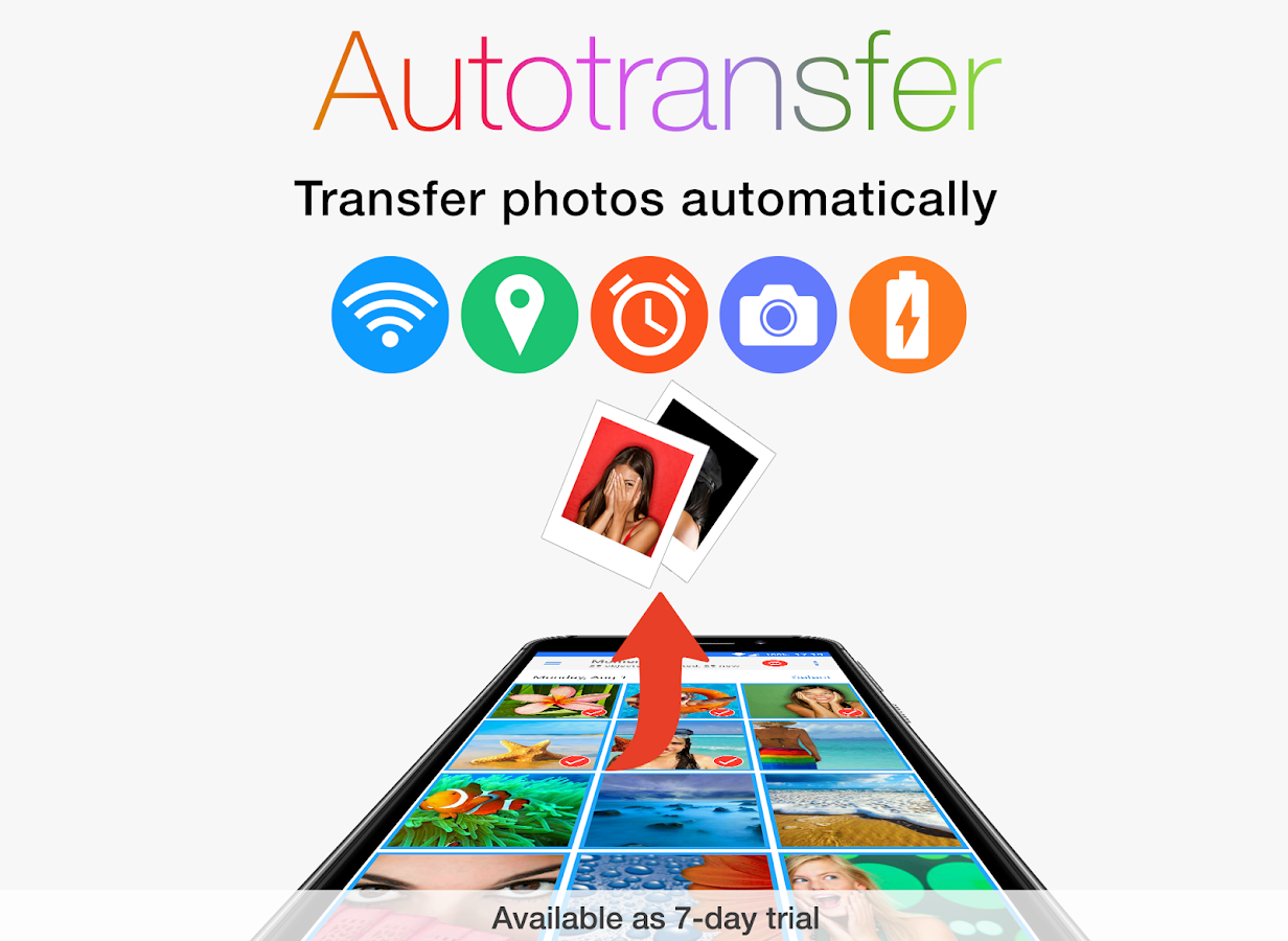 PhotoSync – transfer and backup photos & videos- screenshot