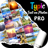 Typic Pro  :- Text on Photos Icon