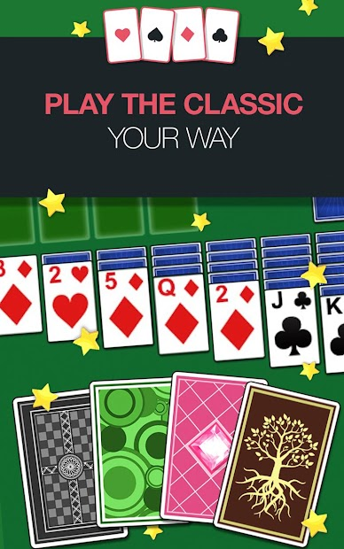 Solitaire Jam - Classic Free Solitaire Card Game Android App Screenshot