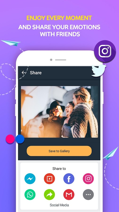 Video Maker Of Photos With Song & Video Editor- screenshot