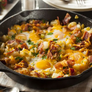 Inspired by Denny's Easy Santa Fe Skillet