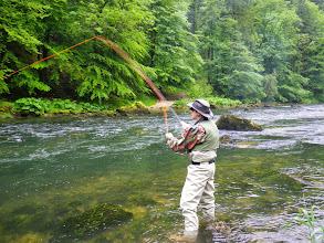 Photo: Fischen am Doubs