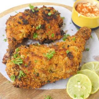 Crispy Crumb Baked Chicken