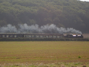 Photo: Norfolk Coast Path - From Wiveton to Cromer - The steam engine near Sheringham
