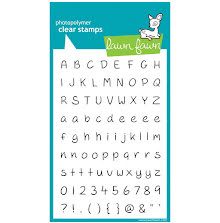 Lawn Fawn Clear Stamps 4X6 - Jessies ABCs