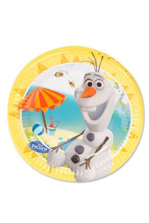 Frost Olaf, tallrikar