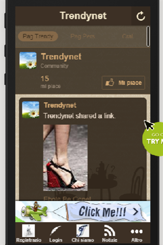 Trendynet- screenshot