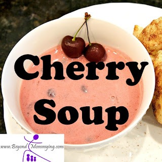 Cold Cherry Soup.
