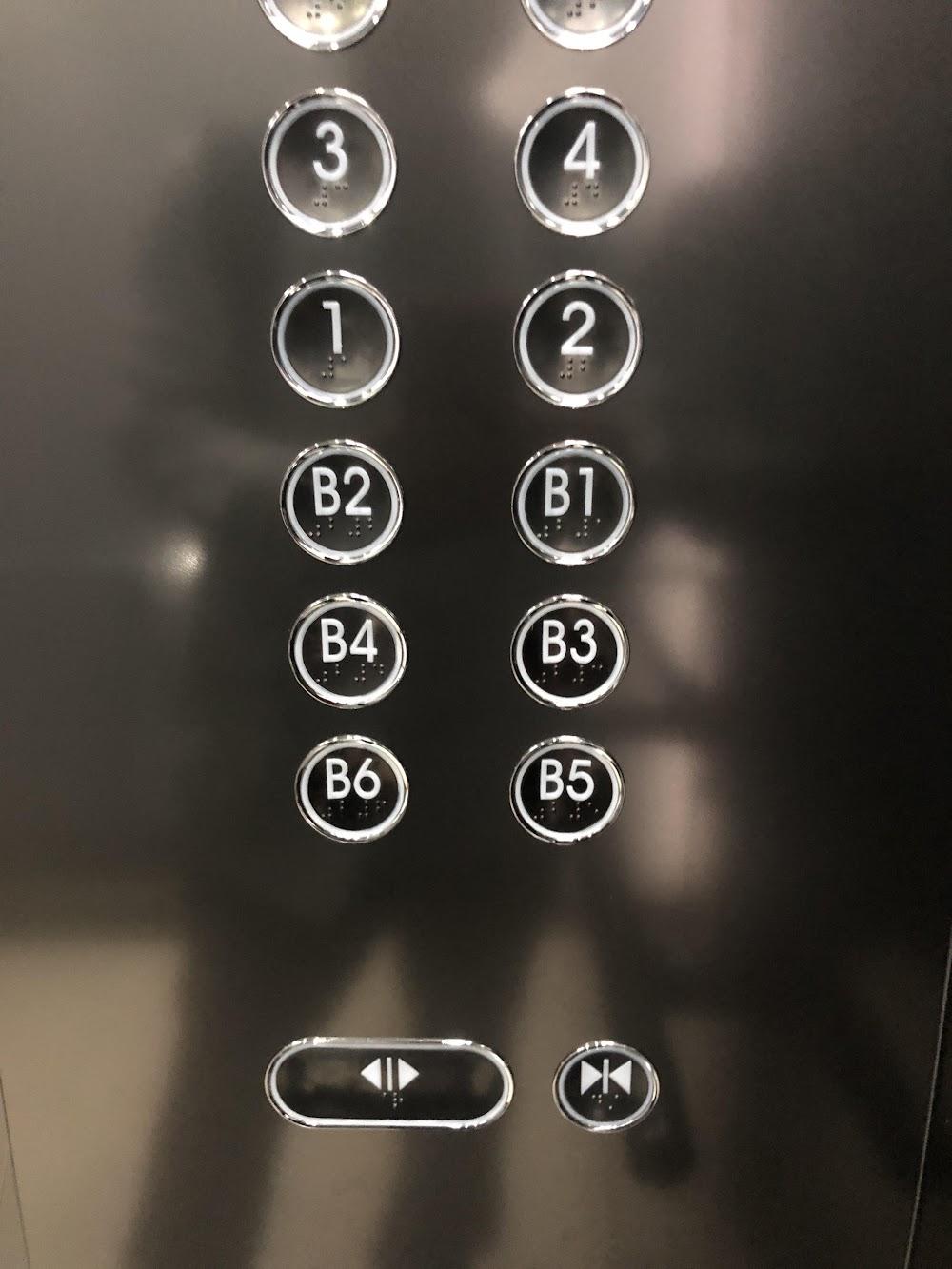 엘레베이터 열기 닫기 버튼