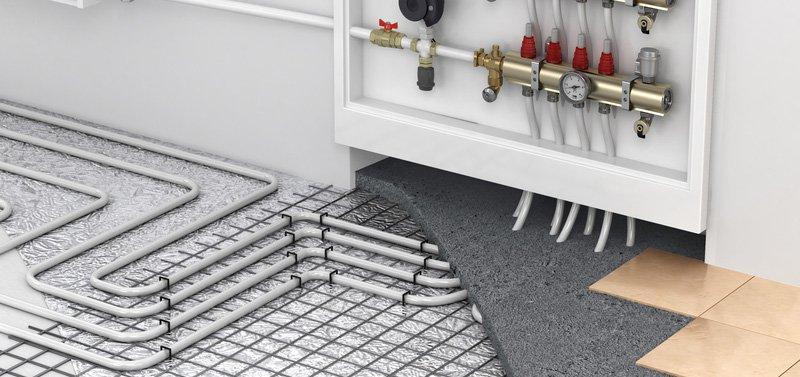 Instalacja wspomagająca - ogrzewanie podłogowe