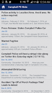 Campbell Police Department- screenshot thumbnail