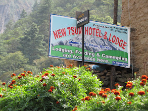 Photo: Lokpa 8 beds - 40 guests.  Many os and ms.