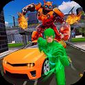 Robot Flash Speed Hero: Flash Robot Games icon