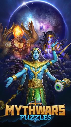 MythWars & Puzzles: RPG Match 3  Wallpaper 9